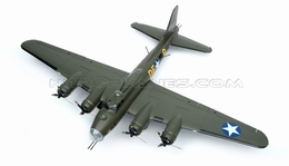 "NEW 7 Channel AirWingRC B-17 Bomber 63"" Scale Electric RC Warbird ARF w/ Brushless Motor + ESC + Servos (Green)"