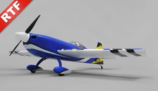 "Aerosky Extra 330SC 4CH Special Edition 55"" Sports Aerobatic Brushless RC Airplane RTF (Blue)"
