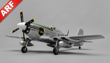 Airfield P51 4 Channel Warbird ARF 800mm Wingspan(Green)