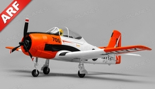 Airfield T28 Trojan  4 Channel Almost Ready to Fly ARF 800mm Wing Span (Red)