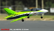 2.4G 64mm Concept X Super Performance Brushless Ducted Fan RC Jet RTF (Green)