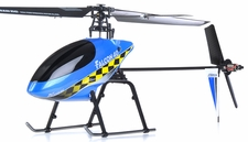 Exceed RC 2.4Ghz Falcon 40 V2 4-Channel RC Helicopter RTF Fixed Pitch - 100% Ready-to-Fly w/ Lipo Battery & LCD Transmitter Monitor (Blue)