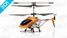 Hero RC  H288 3 Channel Mini Indoor Co-Axial Helicopter w/ bonus blades, balance bar,connect buckle,tail blade & tail decoration(Orange)