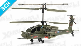 Syma S113G AH-64 Apache Gunship 3 Channel RC Helicopter