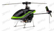 New Walkera V100D08 3D Flybarless RC Helicopter w/ 6 Channel 2.4GHz Devo-7 LCD Transmitter RTF Combo (Green)