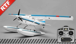 Aerosky 185 Sky Trainer w/Float 4 Channel 2.4ghz Ready to Fly 1500mm Wingspan (Blue)