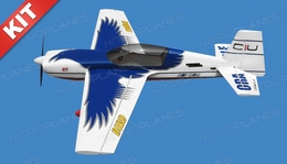 Nitro Model Thunderbird 4 Channel Aerobatic 3D 30CC Gas Plane Kit 1860mm Wingspan  (White)