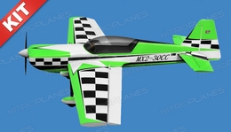 Nitro Model 4 Channel MX2 3D Aerobatic 30CC Gas Plane Kit 1860mm Wingspan (Green)