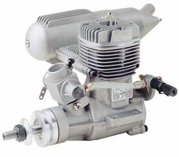 ASP S61AII 2 Stroke Glow Engine with Muffler for Airplane