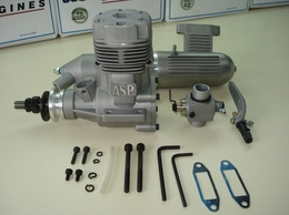 ASP S91AII 2 Stroke Glow Engine with Muffler for Airplane