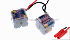 GENS ACE 1600mAh 9.6V NIMH AX10-8(A10) Saddle-Pack