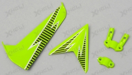 Tail decoration blades (Green)