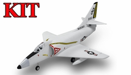 4-CH AirField 64mm A4 Ducted Fan RC Jet Kit w/out electronics (Grey)