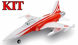 4-CH AirField 64mm F5 Ducted Fan RC Jet Kit w/out electronics (Red)