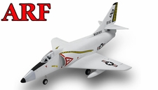 4-CH AirField 64mm A4 Ducted Fan RC Jet Receiver-Ready w/ Brushless Motor+ESC (Grey)