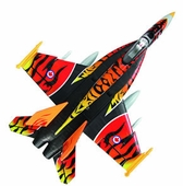 High Performance MaxJet 4-CH F-18E Tiger RC Fighter Jet w/ 64MM EDF Fan (Kit Version)