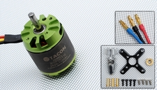 Tacon Big Foot 10 Brushless Out Runner Motor for Airplane (1100KV)