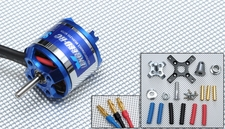 Exceed RC Brushless Motor 920kv  10.5 Turn Rating for Airplanes