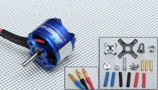 Exceed RC Brushless Motor 1420kv  10 Turn Rating for Airplanes