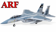 4-CH AirField 64mm F15 Ducted Fan RC Jet Receiver-Ready w/ Brushless Motor+ESC (Sky Camo)
