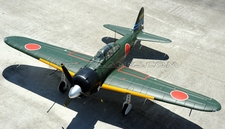 New AirField 1400mm Mitsubishi A6M Zero Warbird  RC Kit Airplane w/ Electronic Retracts