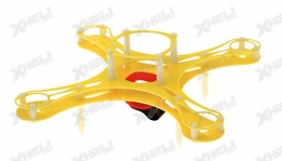 Mini Fly QuadCopter KIT Airframe (Yellow)