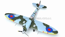Dynam 5-CH Spitfire 1200mm Brushless RC Remote Control Plane w/ Electric Retracts 2.4G RTF