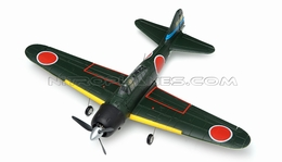 New AirField Mini EPO Mitsubishi A6M Zero KIT Airframe version 800 Series