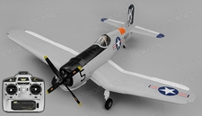 Airfield RC F4U Corsair 1450mm Warbird Ready to Fly 2.4ghz 1450mm Wingspan(Grey)
