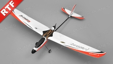 Tech One Hobby Mercury Trainer 4channel Ready to Fly 2.4ghz (Red)
