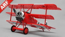 Art Tech Fokker 4 Channel Tri-Plane Warbird RC Plane ARF
