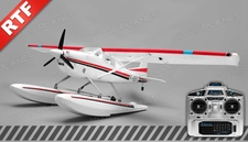 Aerosky 185 Sky Trainer w/Float 4 Channel 2.4ghz Ready to Fly 1500mm Wingspan (Red)