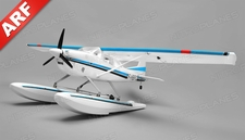 Aerosky 185 Sky Trainer w/Float 4 Channel ARF Almost Ready to Fly 1500mm Wingspan (Blue)