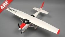 AeroSky 4 Channel Sky Trainer 1410mm RC Airplane ARF (Red)