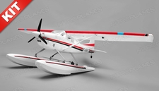 Aerosky 185 Sky Trainer RC Plane w/Float 4 Channel KIT 1500mm Wingspan (Red)