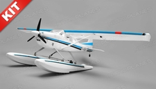 Aerosky 185 Sky Trainer w/Float 4 Channel KIT 1500mm Wingspan (Blue)
