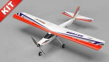 TechOne Saturn 4 Channel RC EPO RC Airplane Kit (Red)