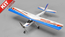 TechOne Saturn 4 Channel RC EPO RC Airplane Kit w/ Motor (Blue)