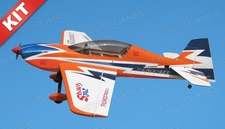 Nitro Model SBach 342 4 Channel Aerobatic 3D 70 size Nitro Plane Kit 1520mm(Orange)