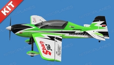 Nitro Model SBach 342 4 Channel Aerobatic 3D 30CC Gas Plane Kit 1860mm Wingspan (Green)