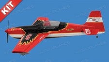Nitro Model Raven 30 size 4 Channel Aerobatic 3D Electric Plane Kit 1245 Wingspan