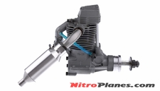 ASP FS120AR 4 Stroke Glow Engine with Muffler for Airplane