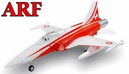 4-CH AirField 64mm F5 Ducted Fan RC Jet ARF Receiver-Ready  w/ Brushless Motor+ESC (Red)