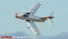 Exceed RC 2.4Ghz Mig-15 70MM Electric Ducted Fan Remote Control RTF Ready to Fly w/ Fix Landing Gear (Silver)