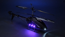 New Hawkspy LT-711 3.5CH RC Helicopter W/ Spy Camera (Black)