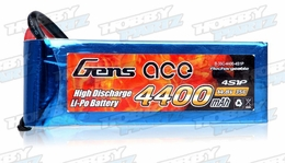 Gens Ace 4400mAh 35C 14.8v Lipo Battery