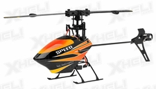 WL Toys V922 RC CCPM 6 Channel Flybarless Helicopter Ready to Fly (Red)
