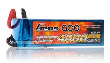 Gens ace LIPO Battery  4000mAh 60-120C 22.2V