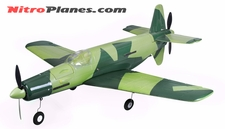 EP 37.0� Aerobatic Do-335 Dornier Pfeil Twin Dual Engine EPO Foamy Scale Plane KIT Airframe (Green)