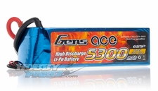 Gens ace LIPO Battery   5300mAh 60-120C 22.2V